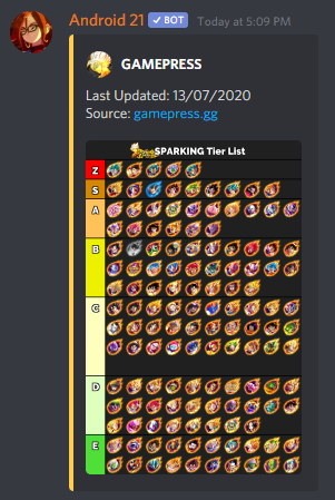 Android 21 | Discord Bots